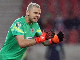 Braunschweigs Keeper Rafal Gikiewicz