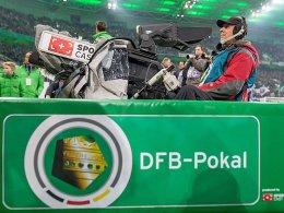 Der DFB-Pokal im TV - auch künftig bei ARD und Sky.