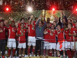 Bayern kr�nt sich zum DFB-Pokalsieger