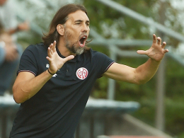"""""""Mit der Einstellung geht es nicht"""": Der Mainzer Coach Martin Schmidt."""