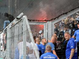 DFB ermittelt gegen Frankfurt, Dresden und Magdeburg