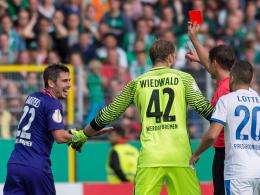 Bartels für zwei DFB-Pokalspiele gesperrt