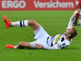 Christoph Kramer beim Zweitrundenspiel gegen Stuttgart