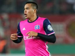 Doppelpacker: US-Nationalspieler Bobby Wood führte den Hamburger SV ins Achtelfinale.