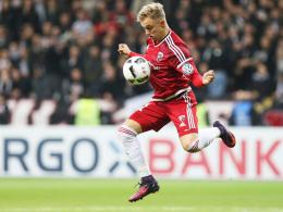 Enttäuschung beim Pflichtspieldebüt für den FCI: Ingolstadts Sonny Kittel.