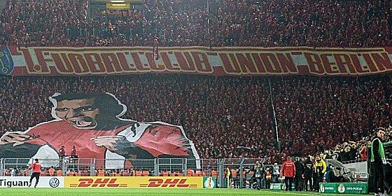 Sie erlebten einen durchaus aufregenden Abend in Dortmund: Fans von Union Berlin.