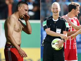Ribery glänzt als Torschütze, Vorbereiter und Schelm