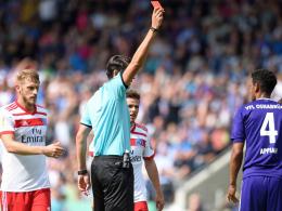 Osnabrücks Appiah für zwei Spiele gesperrt