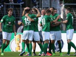 Schweinfurt hat gegen die Eintracht