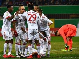 Klare Sache: Bayern schlägt Paderborn 6:0