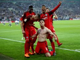Dank Jovics Hacke: Frankfurt im Pokalfinale!