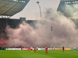 Pyro beim Pokalfinale: DFB ermittelt