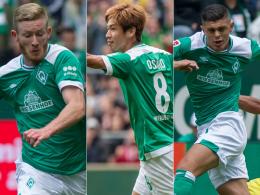 Werder Bremen: Kainz gesetzt, Osako als Joker?