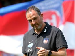 FCH-Coach Schmidt appelliert an die Einstellung