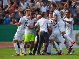Bilder: Bayern mit viel Mühe - Sensation in Ulm