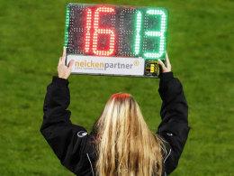 DFB-Pokal: Vierte Einwechslung ab sofort möglich
