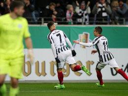 Frankfurt im Halbfinale - BVB-Spiel abgesagt!