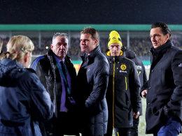 Regen und Schneefall: Lotte gegen BVB abgesagt