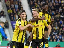 Dortmund schlägt Lotte - Im Halbfinale beim FC Bayern