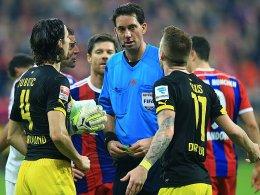 Gräfe pfeift Bayern gegen Dortmund
