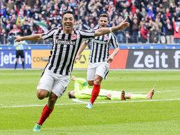Eintracht freut sich vor Gladbach-Spiel über Aufwind
