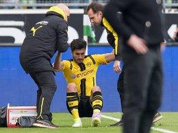 BVB hofft auf Sahin-Comeback in dieser Saison