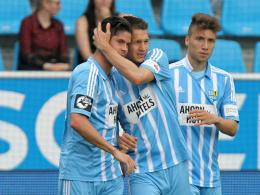 Doppelter Frahn führt Chemnitz zum Pokalsieg