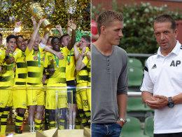 Sechstligist fordert BVB - Petersen gegen seinen Papa