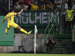 Pokal-Drama! BVB trifft zweimal in der Nachspielzeit