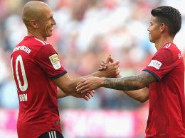 FC Bayern ohne Robben, James, Boateng und Hummels