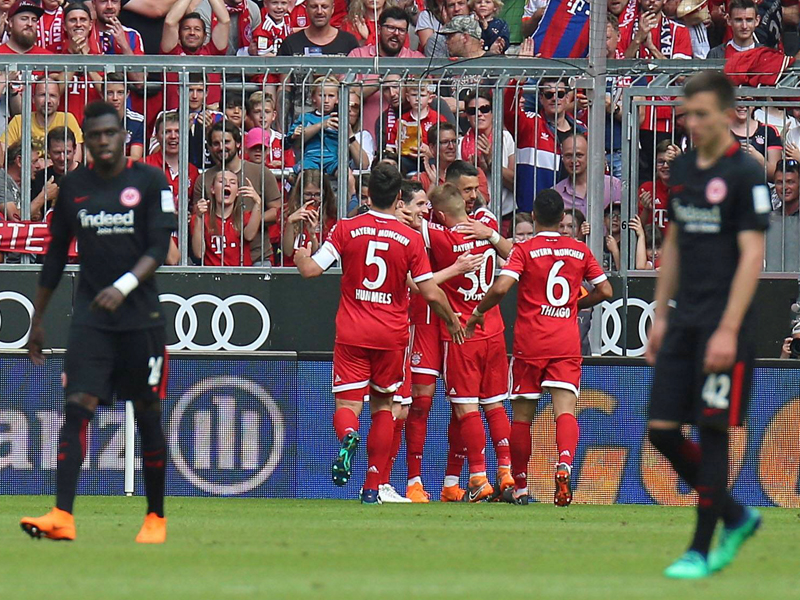 11 Fakten zum Pokalfinale Bayern gegen Frankfurt