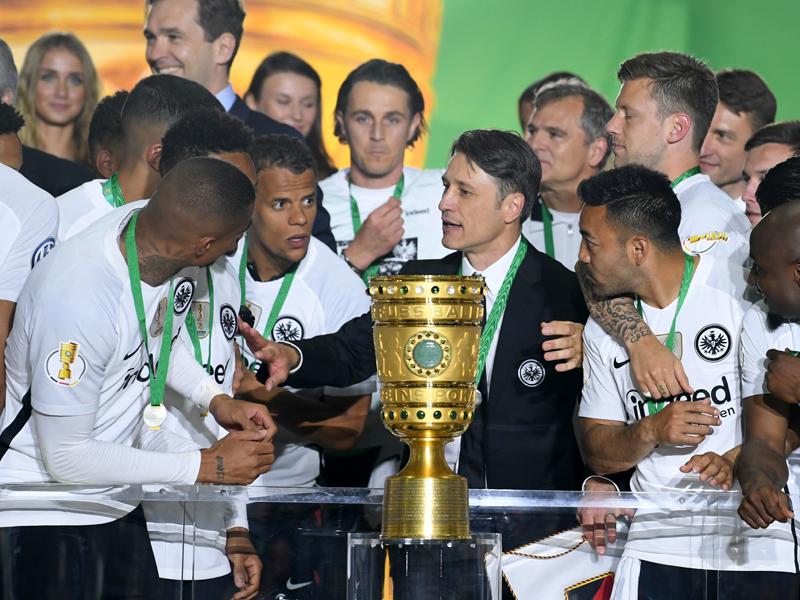 Boateng-Tränen und der Fußball-Gott: Frankfurt ist Pokalsieger