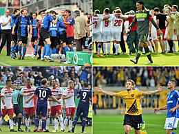 Erstrunden-Blamagen: Die Bundesliga-Bilanz seit 2008