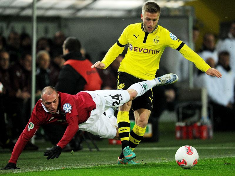 Bayer entt�uscht, Dortmund zaubert