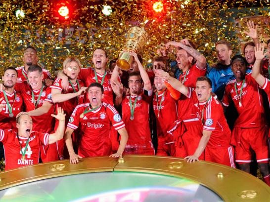 FC Bayern gewinnt den DFB-Pokal