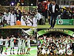 So feiert der VfL Wolfsburg den historischen Triumph