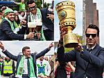 Der Triumphzug durch Wolfsburg