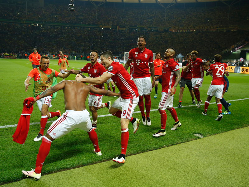 Bayern feiert Triumph im DFB-Pokalfinale