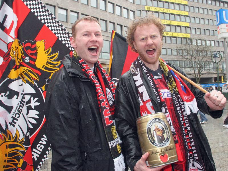 Russ, Meier, Pizarro: Das letzte Pokalfinale der Eintracht