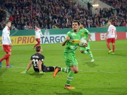 Hofmann und Raffael verhindern Pokal-Blamage