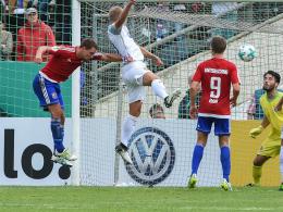 Beermann köpft den FCH in die zweite Runde