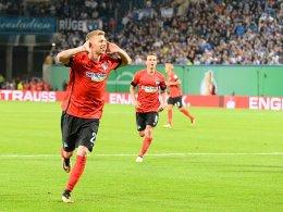 Weiser beendet das unschöne Spiel in Rostock