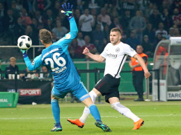 Rebic und Gacinovic schießen Frankfurt zum Pokalsieg