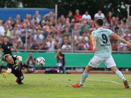 Lewandowski rettet den FC Bayern vor der Verlängerung