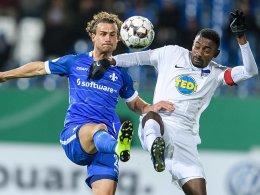 Dardais Joker befördern Hertha ins Achtelfinale