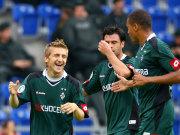 Marko Marin freut sich über seinen Treffer