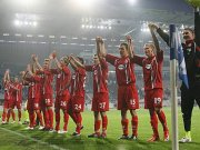 Cottbuser Jubel in Magdeburg: Die erste Pokalrunde ist überstanden.