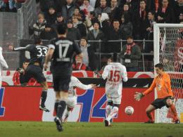 Mario Gomez trifft zum 2:0