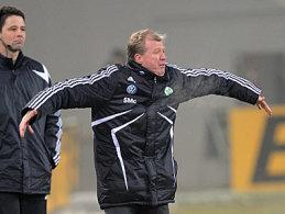 Offensichtlich ratlos: Wolfsburgs Coach Steve McClaren.