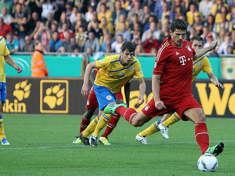 Gomez trifft zum 1:0.